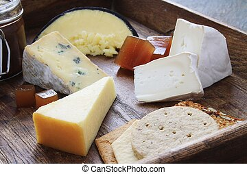 cheese platter - cheese selection platter