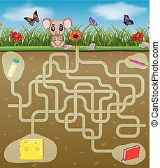 cheese!, rato, ajuda, achar