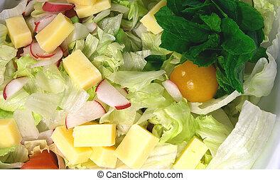 Cheese salad2