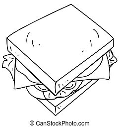 Cheese Sandwich Doodle