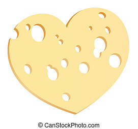 Cheese Slice Heart