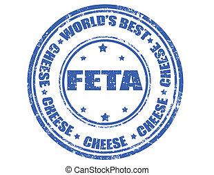 cheese-stamp, feta