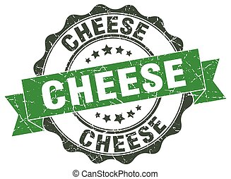 cheese stamp. sign. seal