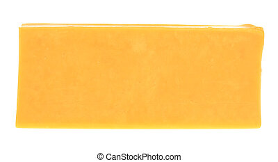 Cheese - A stock photo of some cheese set against a white...
