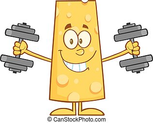 Cheese Training With Dumbbells