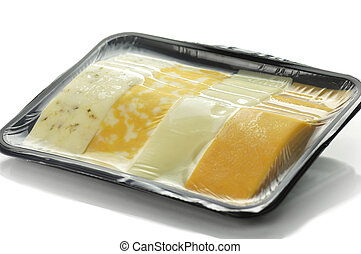 cheese tray slices