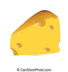 cheese - vector illustration