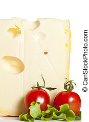 Cheese with Tomato