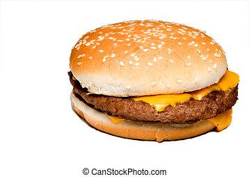 Cheeseburger - An all American classic cheeseburger on a ...