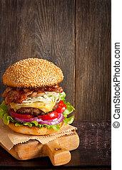 Cheeseburger.