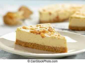 cheesecake, skiva