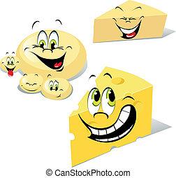 cheeses cartoon