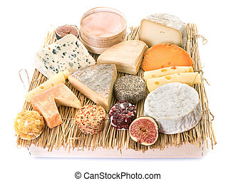 cheeses in studio