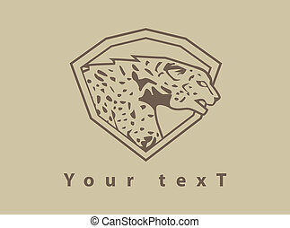 cheetah design illustration