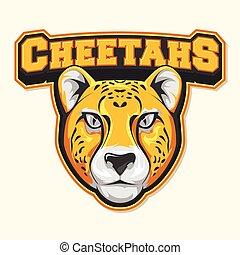 cheetah logo colorful