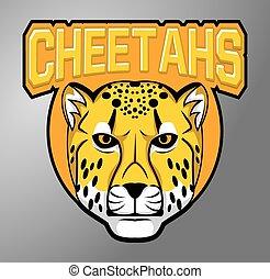 cheetah, mascots