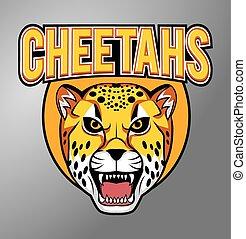 cheetah, mascotte