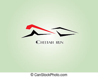 cheetah run - Images design cheetah run logo -...