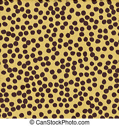 cheetah spots - a very large sheet of a rendered textured...