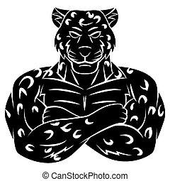 cheetah, tatoeëren