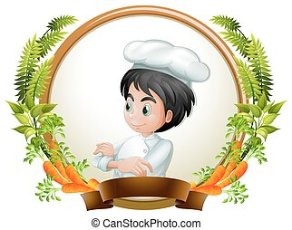 Chef and banner