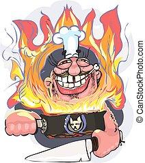 Chef Angry