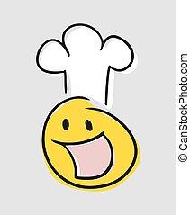 chef, arte, disegnare