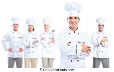chef, baker.