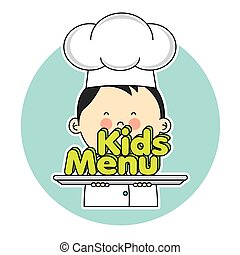 chef, bambini