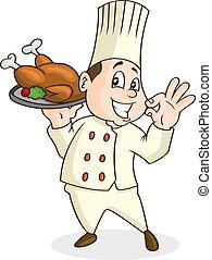 Chef, caricatura