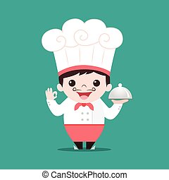 chef cartoon vector