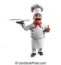 chef, cocina