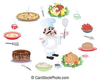 chef, cocinero