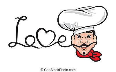 chef, comico