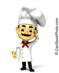 chef confuse