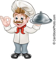 Chef Cook Cartoon Man