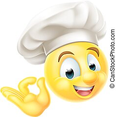 Chef Cook Emoji Emoticon