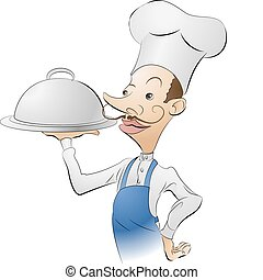 chef cook illustration