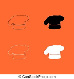 Chef cooking hat icon .