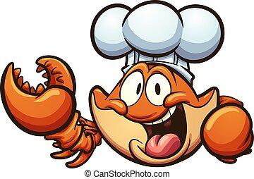 Chef crab