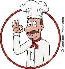 chef cuistot, appetit, bon