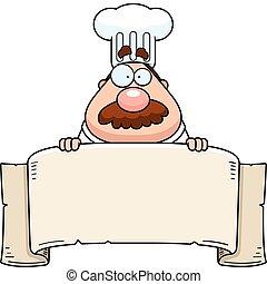 chef cuistot, bannière