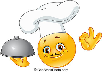 chef cuistot, emoticon