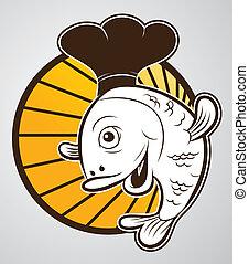 chef cuistot, fish