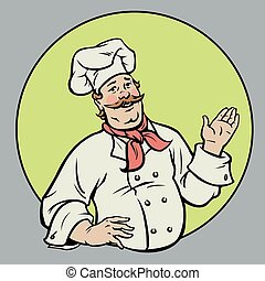 chef cuistot, -, illustration