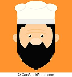 chef cuistot, illustration