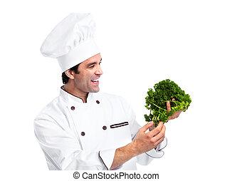 chef cuistot, man.