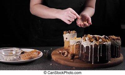 chef cuistot, patisserie, cuisinier, boulanger, paques