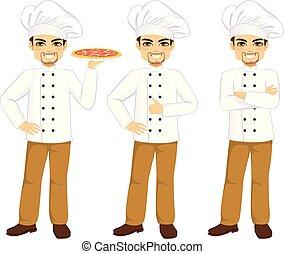 chef cuistot, professionnel, mâle