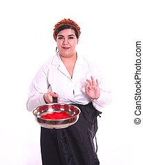 chef, curvy